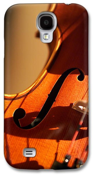 Hanging Galaxy S4 Cases - Violin X Galaxy S4 Case by Jon Neidert
