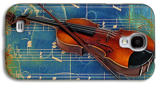 Musicians Galaxy S4 Cases - Violin Collection Galaxy S4 Case by Marvin Blaine