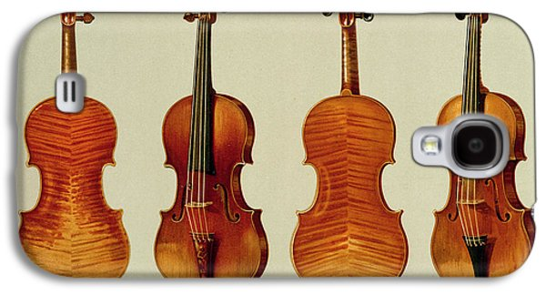 Violins Galaxy S4 Case by Alfred James Hipkins
