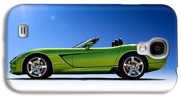 Green Galaxy S4 Cases - Viper Roadster Galaxy S4 Case by Douglas Pittman