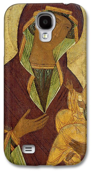 Virgin And Child Galaxy S4 Case by Russian School