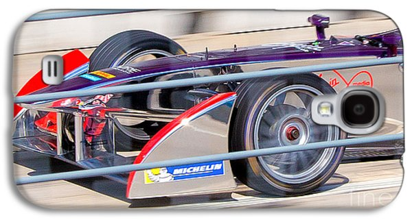 Michelin Galaxy S4 Cases - Virgin Race Team ePrix III Galaxy S4 Case by Rene Triay Photography