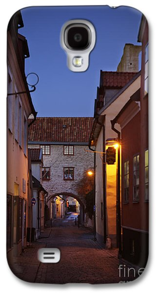 Mystifying Galaxy S4 Cases - Visby Evening  Galaxy S4 Case by Ladi  Kirn