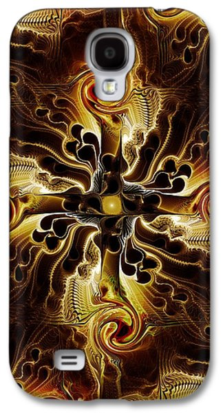 Best Sellers -  - Abstracts Galaxy S4 Cases - Vital Cross Galaxy S4 Case by Anastasiya Malakhova
