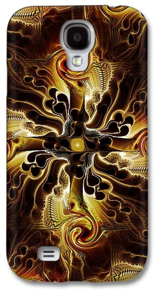Atonement Galaxy S4 Cases - Vital Cross Galaxy S4 Case by Anastasiya Malakhova