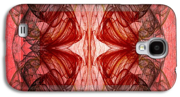 Abstract Digital Photographs Galaxy S4 Cases - Vitruvian  Galaxy S4 Case by Edward Fielding