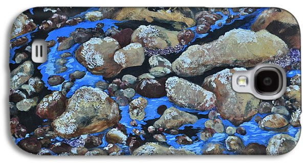 Stein Mixed Media Galaxy S4 Cases - Voice of the Stones Galaxy S4 Case by Carla Stein