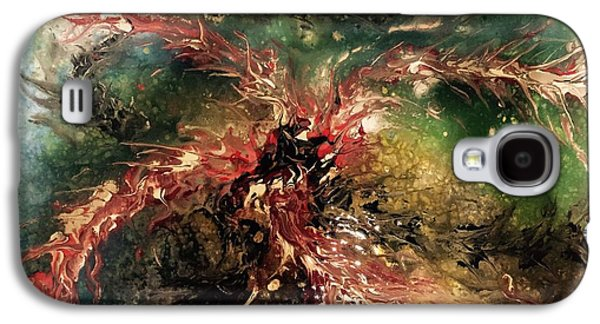 Subconscious Paintings Galaxy S4 Cases - Voices Speak In Riddles  Galaxy S4 Case by Edward Paul