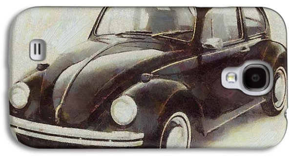 Volkswagen Beetle Live Below Your Means Galaxy S4 Case by Dan Sproul