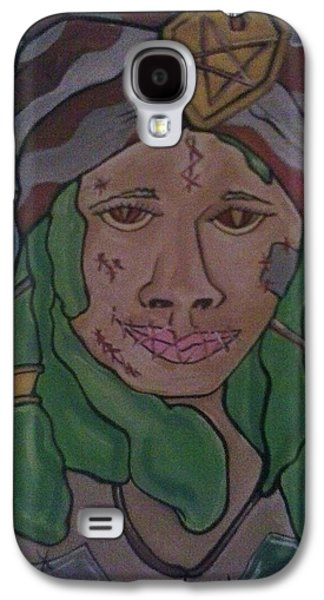Slaves Galaxy S4 Cases - Voodoo Priestess Galaxy S4 Case by Damon Milton