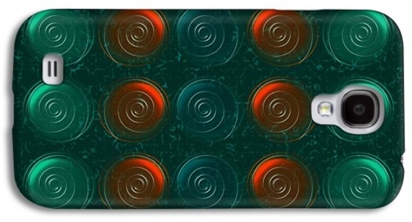 Green Galaxy S4 Cases - Vortices Galaxy S4 Case by Anastasiya Malakhova