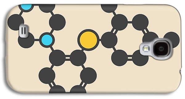 Vortioxetine Antidepressant Drug Molecule Galaxy S4 Case by Molekuul