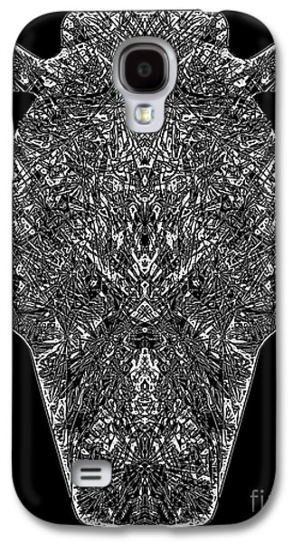 Digital Abstract Drawings Galaxy S4 Cases - Vulcan Urn Cont Galaxy S4 Case by Dale Crum