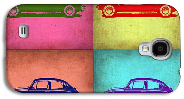 Vw Beetle Pop Art 1 Galaxy S4 Case by Naxart Studio