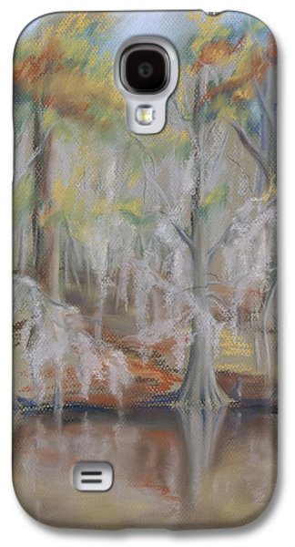 Autumn Landscape Pastels Galaxy S4 Cases - Waccamaw River Impressions Galaxy S4 Case by MM Anderson