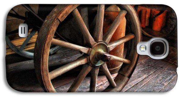 Unused Galaxy S4 Cases - Wagon Wheels Galaxy S4 Case by Dan Sproul