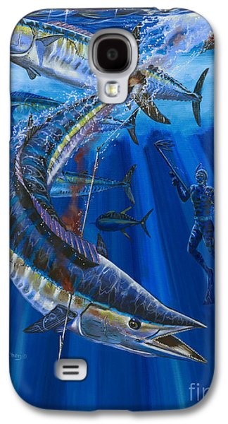 Wahoo Galaxy S4 Cases - Wahoo spear Galaxy S4 Case by Carey Chen