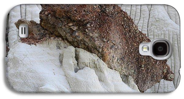 Wahweap Hoodoos Detail 1 Galaxy S4 Case by Bob Christopher