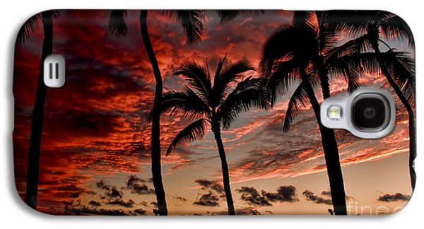Interface Galaxy S4 Cases - Waikiki Sunset Galaxy S4 Case by David Smith