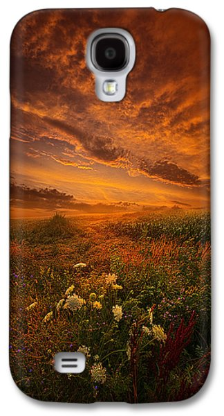Silos Galaxy S4 Cases - Waiting for the Day to Begin Galaxy S4 Case by Phil Koch
