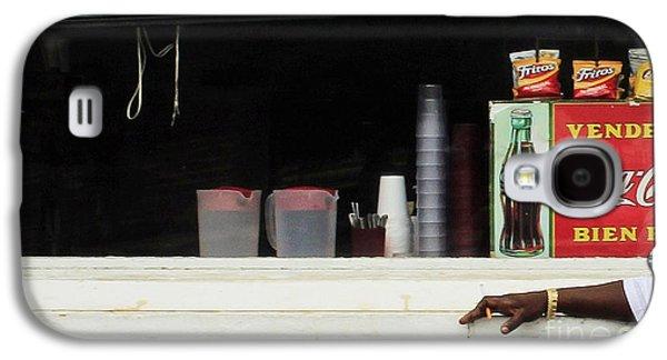 Snack Bar Galaxy S4 Cases - Waiting On Orders Galaxy S4 Case by Joe Jake Pratt