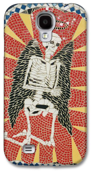Religious Ceramics Galaxy S4 Cases - Waiting on the Lord Galaxy S4 Case by Pj Flagg Tongue in Chic