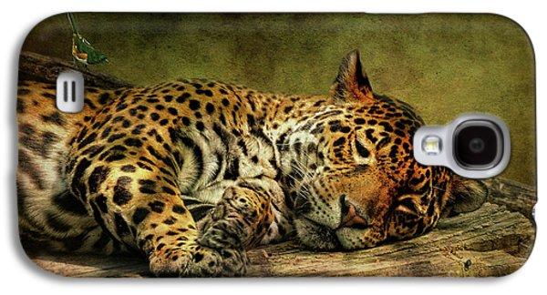Wake Up Sleepyhead Galaxy S4 Case by Lois Bryan