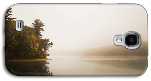 Walden Pond Galaxy S4 Cases - Walden Pond October Morning Galaxy S4 Case by Patrick Campagnone