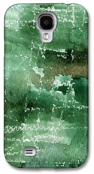 Abstract Nature Galaxy S4 Cases - Walk In The Park Galaxy S4 Case by Linda Woods