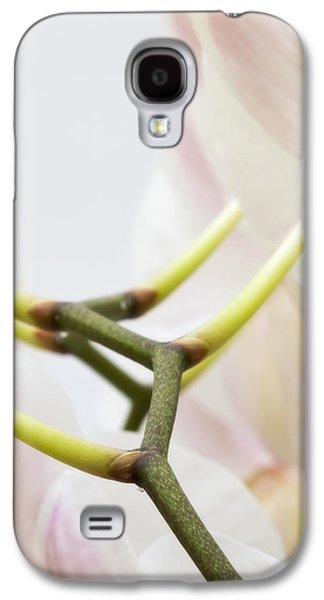 Studio Photographs Galaxy S4 Cases - Walk The Orchid Galaxy S4 Case by Wim Lanclus