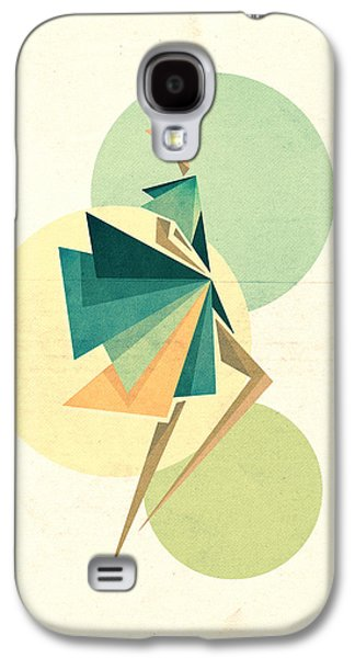 Abstract Digital Digital Galaxy S4 Cases - Walk the walk Galaxy S4 Case by VessDSign
