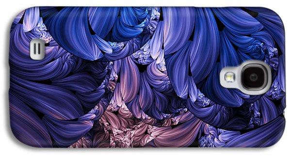 Youthful Digital Art Galaxy S4 Cases - Walk Through The Petals Abstract Galaxy S4 Case by Georgiana Romanovna