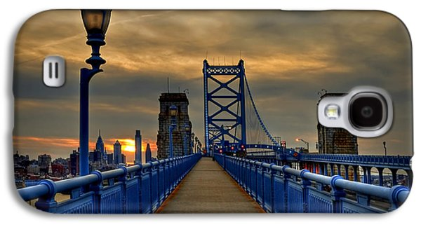 Bridge Galaxy S4 Cases - Walk with Me Galaxy S4 Case by Evelina Kremsdorf