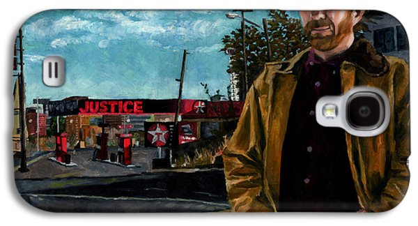 Police Paintings Galaxy S4 Cases - Walker Texaco Ranger - Lethal Justice Galaxy S4 Case by Thomas Weeks