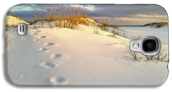 Florida Panhandle Galaxy S4 Cases - Walking in Destin Galaxy S4 Case by JC Findley