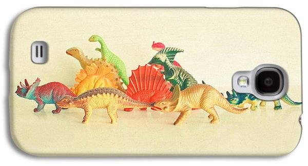 Walking With Dinosaurs Galaxy S4 Case by Cassia Beck