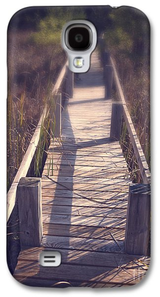 Landscape Framed Prints Galaxy S4 Cases - Walkway Through The Reeds Appalachian trail Galaxy S4 Case by Edward Fielding