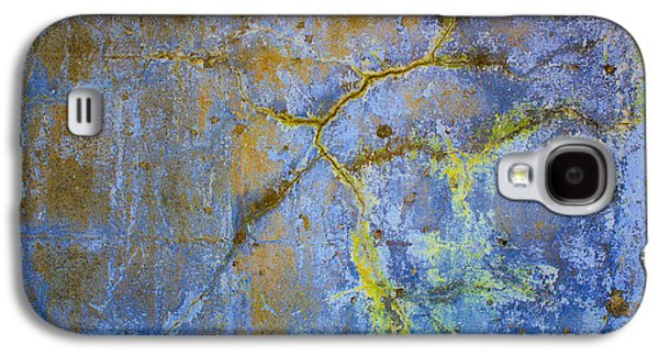Abstract Digital Photographs Galaxy S4 Cases - Wall Abstraction I Galaxy S4 Case by Dave Gordon