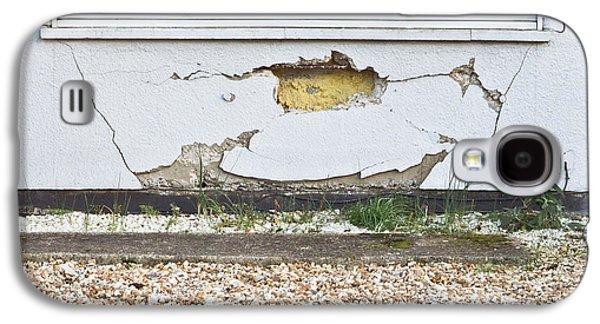 Torn Galaxy S4 Cases - Wall damage Galaxy S4 Case by Tom Gowanlock