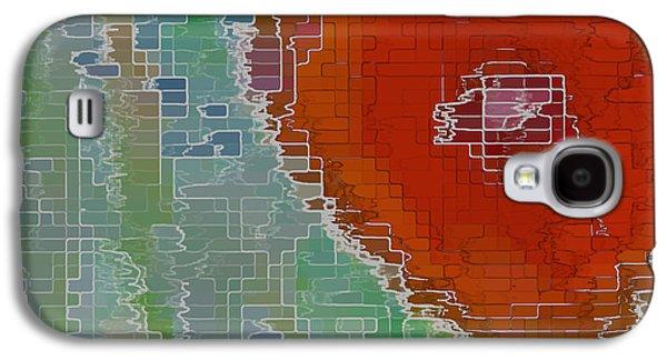 Wall Flower Galaxy S4 Case by Ben and Raisa Gertsberg