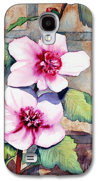 Wall Flowers Galaxy S4 Case by Flamingo Graphix John Ellis