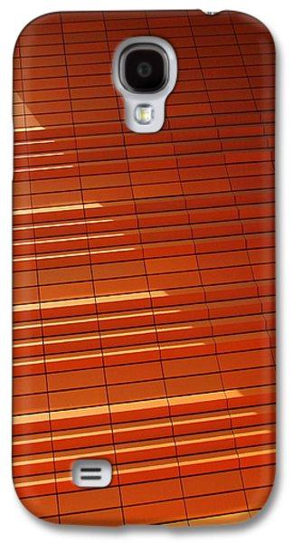 Uptown Charlotte Galaxy S4 Cases - Wall In Shadow Galaxy S4 Case by Randall Weidner