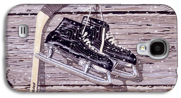Antique Skates Galaxy S4 Cases - Wall of Fame Galaxy S4 Case by Richard De Wolfe