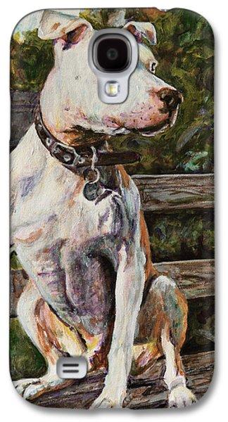 Bulls Galaxy S4 Cases - Wallace the Great Galaxy S4 Case by Clara Yori