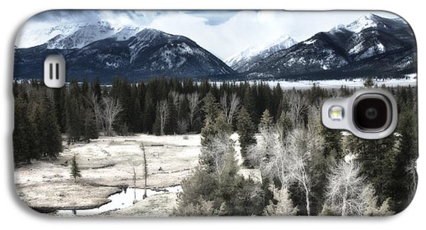 Enterprise Galaxy S4 Cases - Wallowa Valley and Mountains Galaxy S4 Case by Adele Buttolph