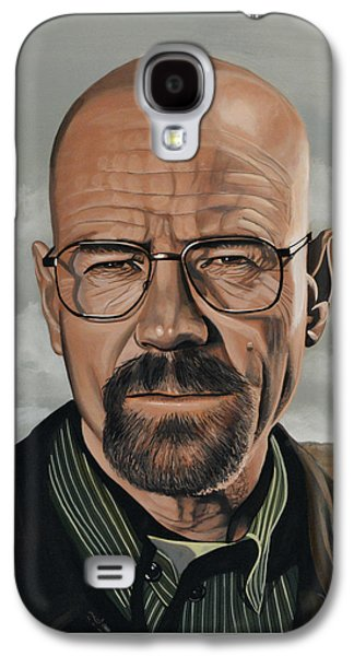 Betsy Galaxy S4 Cases - Walter White Galaxy S4 Case by Paul Meijering