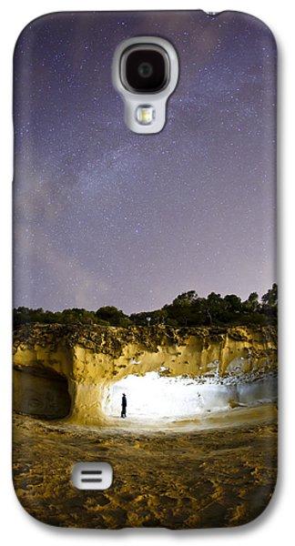 Wandering Star Galaxy S4 Cases - Wandering Galaxy S4 Case by Emilio Lopez
