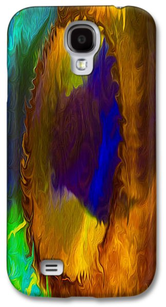 Abstract Digital Mixed Media Galaxy S4 Cases - Wandering Eye II Galaxy S4 Case by Omaste Witkowski