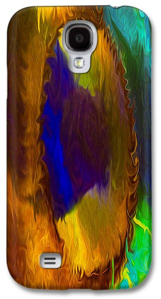 Abstract Digital Mixed Media Galaxy S4 Cases - Wandering Eye Galaxy S4 Case by Omaste Witkowski