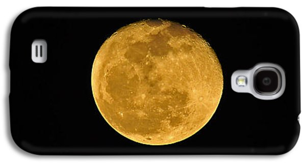Man In The Moon Galaxy S4 Cases - Waning Passover Moon Galaxy S4 Case by Al Powell Photography USA